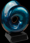Blue Art Sculpture Award Achievement Awards