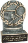 Tennis - Wreath Resin Trophy All Trophy Awards